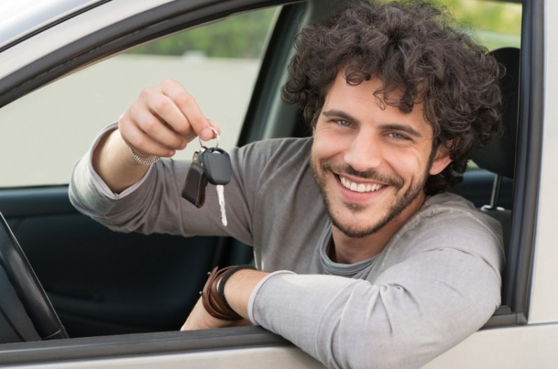 Happy Driver male