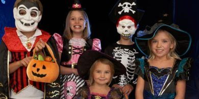 kids halloween costumes trick treat